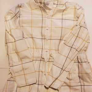A NEW DAY STRIPED RAIN JACKET (UNLINED) NWOT